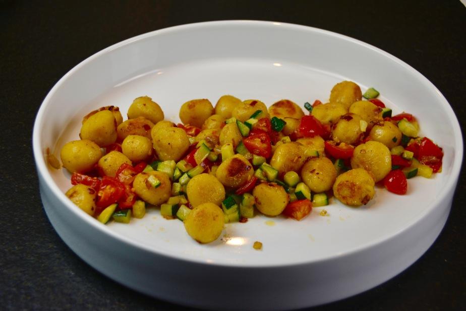 Gnochetti aus Kichererbsenmehl undKartoffeln