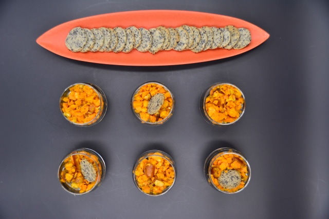 Karotte – Curry -Dattel – Sesamcracker